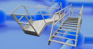 conjuntos de escaleras