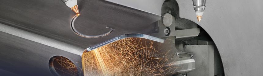 Découpe laser de tubes